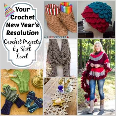crochet new year your crochet new years resolution crochet projects by