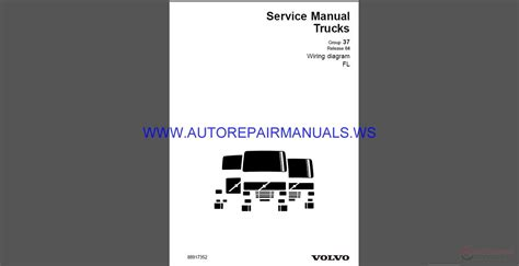 volvo trucks fl wiring diagram service manual auto repair manual forum heavy equipment