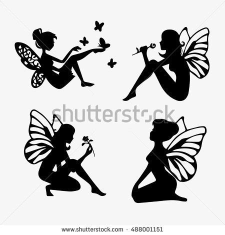 fairy silhouette stock images royalty free images