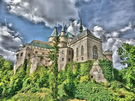 aout  chateau de bojnice le chateau de bojnice