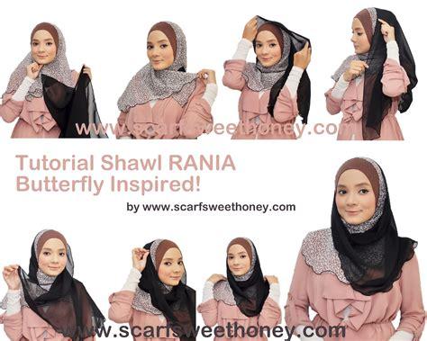 tutorial jilbab gantung tutorial berhijab modern terbaru 2013 cara memakai shawl