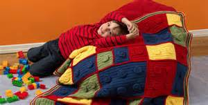 Crochet lego blanket the whoot