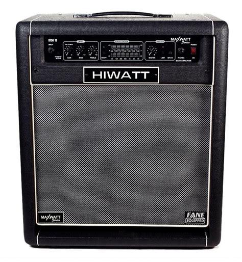 Hiwatt Maxwatt B150 musicworks bass guitar combo lifiers bass combos