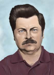 ron swanson destined for mediocrity