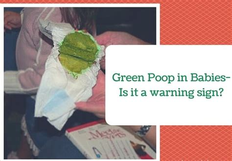 what causes green diarrhea in babies