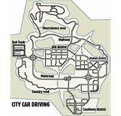 City Car Driving BRASIL Mapa Para Imprimir