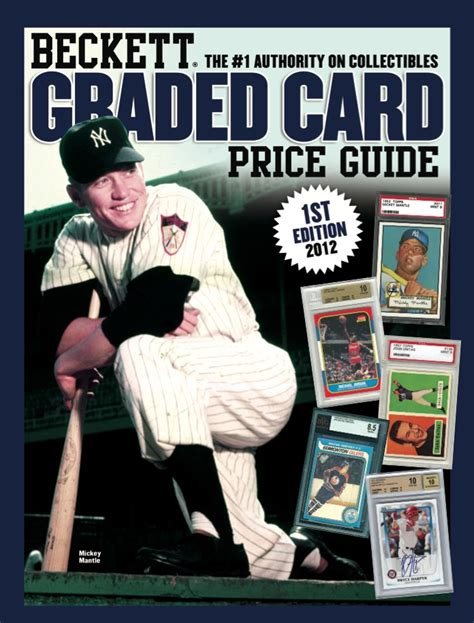 beckett graded card price guide 13 books beckett graded card price guide now available