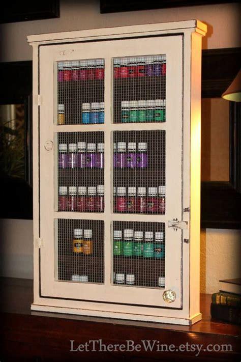 essential cabinet storage 25 best essential oils storage shelf cabinet images on