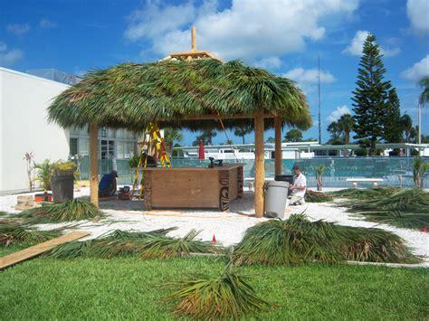 tiki hut welcome to palm huts florida