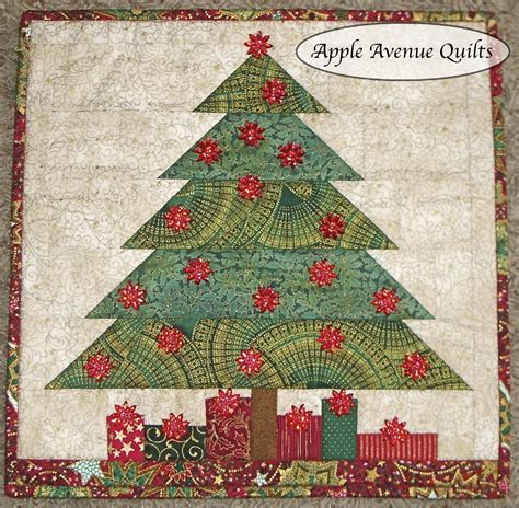 free printable christmas quilt patterns apple avenue quilts december blocks