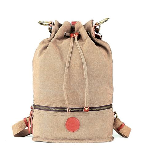 Drawstring Canvas Backpack canvas drawstring backpack canvas knapsack yepbag