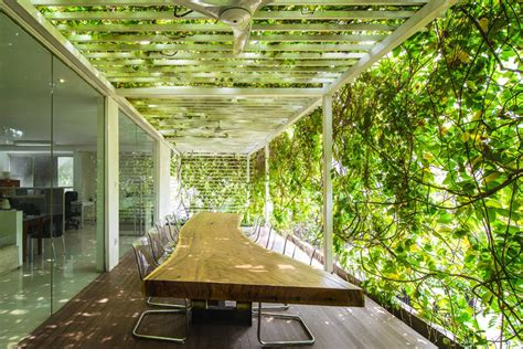designboom airmas asri airmas asri architects adds greenery to new expanded offices
