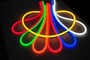 flashlight colors brilliant custom cut 120 volt led neon rope light