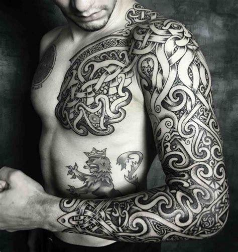 Modele Tatouage Bras Complet Homme