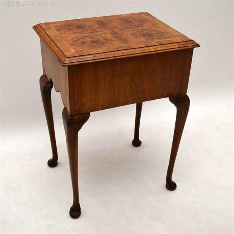 antique side tables antique burr walnut side table antiques atlas