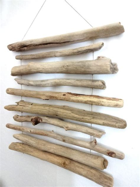 large driftwood mobile wall