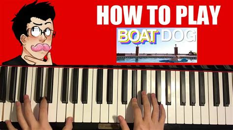 boat dog by markiplier how to play markiplier boat dog piano tutorial youtube