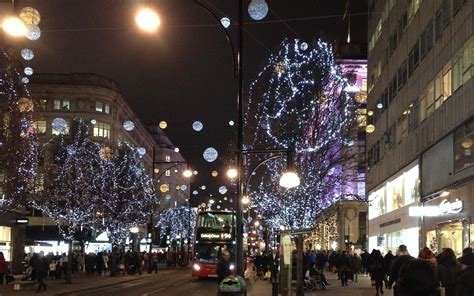 christmas lights london in photos