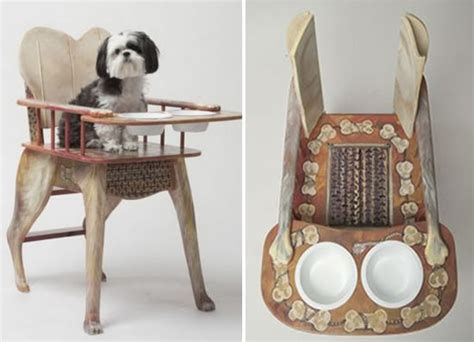 high chair elevates your pet to be your dining partner