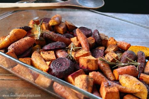 roasted root vegetables balsamic maple roasted root vegetables with sherry vinegar recipe