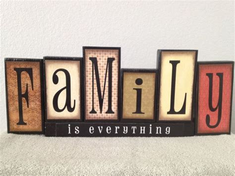 home decor family signs family blocks wooden block set home decor wooden blocks