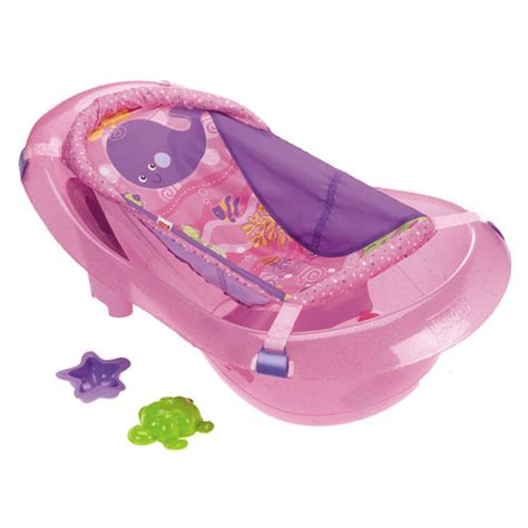 fisher price pink bathtub fisher price ocean wonders pink sparkles tub bath tubs