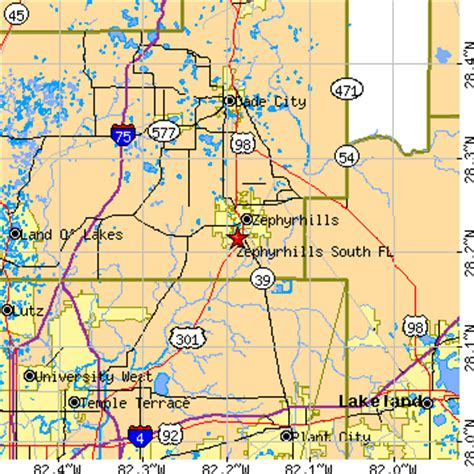 map of zephyrhills florida area zephyrhills south florida fl population data races
