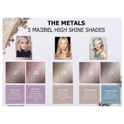 metal l shades uk the metals by majirel limelight hair moseley birmingham