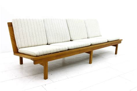 sofa or bench in oak by b 248 rge mogensen 1956 at 1stdibs