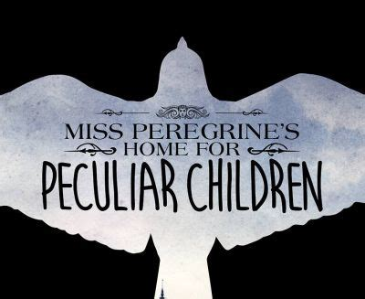 official logo for tim burton directed miss peregrine s