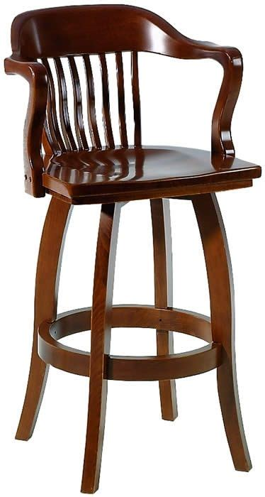 wooden bar stools with arms waymar wood swivel bar stools with arms the quot federal