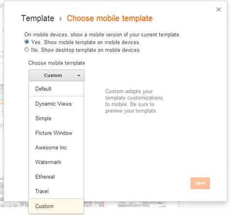 Edit Mobile Template why mobile template not work everything from