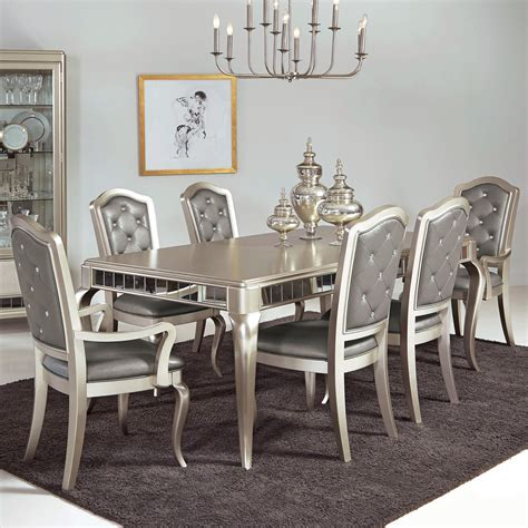 samuel 7 pc table chair set miskelly