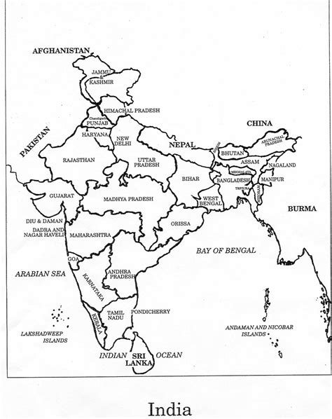 coloring pages of india map india map free coloring pages