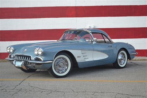 best auto repair manual 1959 chevrolet corvette seat position control 1959 chevrolet corvette for sale 80277 mcg
