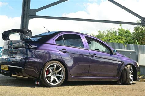 purple mitsubishi lancer midnight purple evo x mitsubishi lancer register forum