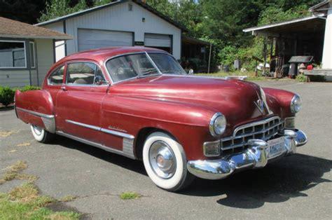 1948 cadillac fastback year monobloc 1948 cadillac series 62 fastback