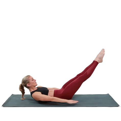 feel the burn with this pilates abs exercise health and fitness pilates abs effective ab