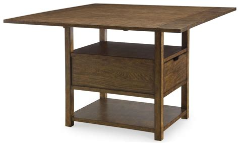 Extendable Bar Table River Run Extendable Pub Table From Legacy Classic 4740 940 T B Coleman Furniture