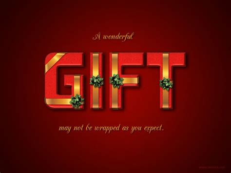 wrapped gift box text effect gift box psd font textuts