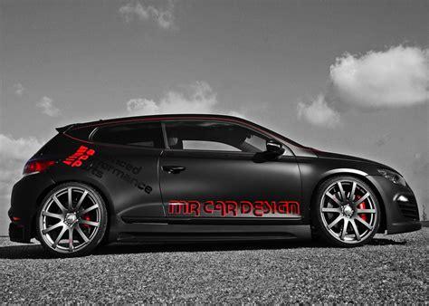 volkswagen scirocco black vw scirocco black rocco by mr car design autoevolution