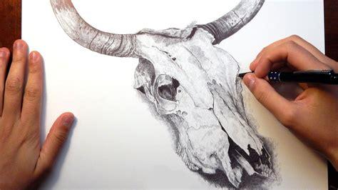 tattoo pen livestock image gallery longhorn skull drawing