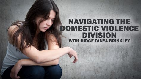 Miami Dade Domestic Violence Search Navigating The Domestic Violence Division With Judge Brinkley Miami Bar
