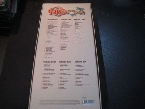 the kinks picture book box set the kinks picture book 6cd box set catawiki
