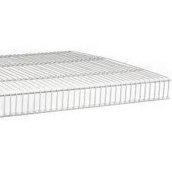Wire Mesh Shelving Tight Mesh Wire Shelving 20 Inch In Wire Closet Shelving