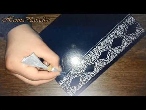 henna design notebook diy henna notebook tutorial hennaparadise youtube