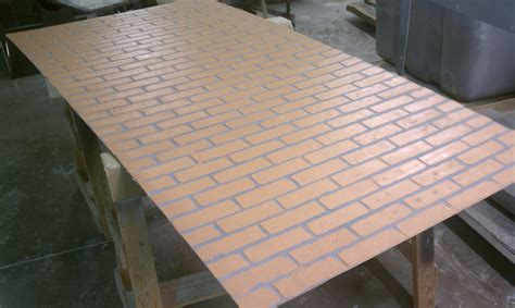 Fiberglass Interior Panels by Faux Brick Panels With Modern Faux Fiberglass Brick For