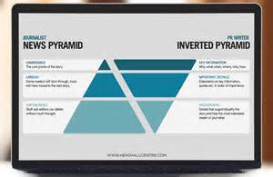 Pyramid Style Of Report Writing by How To Match Pr Writing With Journalists Work Henshall