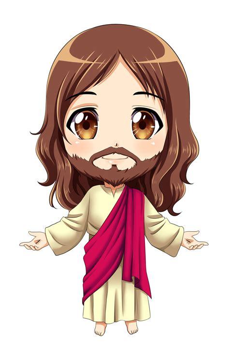 Anime Jesus by Jesus Chibi Commission By Karis Coba On Deviantart