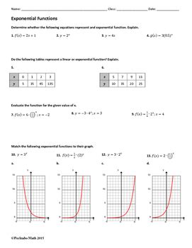 Graphing Exponential Functions Worksheet Algebra 1 by 28 Graphing Exponential Functions Worksheet Algebra 1 Hw